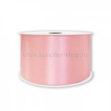 Атласная лента розовая 20 мм