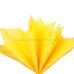 Бумага тишью желтая, 50х66 см, 10 л