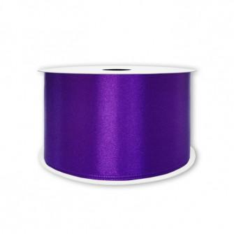 Атласная лента фиолетовая 6 мм