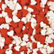 Посыпка Сердечки красно-белые, 100 гр