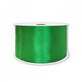 Атласная лента зеленая 7мм