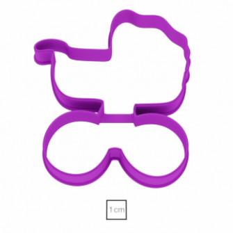 Форма для пряников Детская коляска, 10,8 см