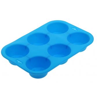 Силиконовая форма на 6 капкейков, 6.5х6.5х3 см