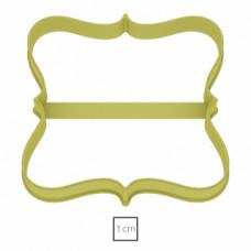 Форма для пряников Табличка №23, 9 см