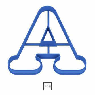 Форма для пряников Буква А, 7,5 см