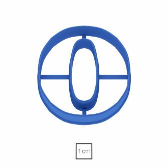 Форма для пряников Цифра 0, 10 см
