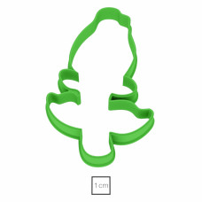 Форма для пряников Бутон Розы, 11 см