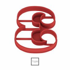 Форма для пряников Цифра 3, 8.5 см