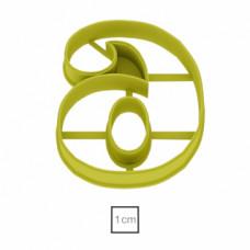 Форма для пряников Цифра 6, 8.5 см