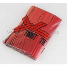 Проволока перевязочная Красная 8см, 100 шт