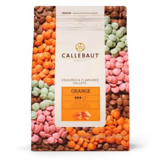Шоколад Callebaut со вкусом апельсина, 2,5 кг