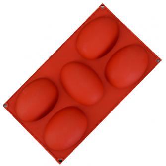 """Форма силиконовая """"Яйцо"""", 30х17х3 см"""