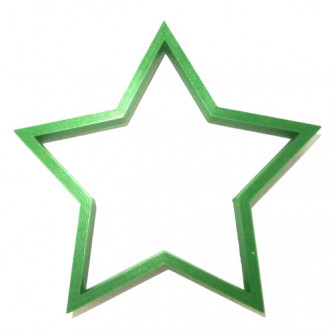 Форма для пряников Звезда 9 см