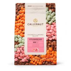 Шоколад Callebaut со вкусом клубники, 2,5 кг