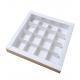 Коробка на 16 конфет, белая