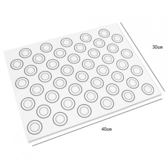 Силиконовый коврик для макарун, 30х40 см
