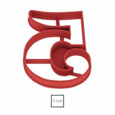 Форма для пряников Цифра 5, 8.5 см