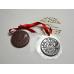 """Форма для шоколада """"Медаль новогодняя"""""""