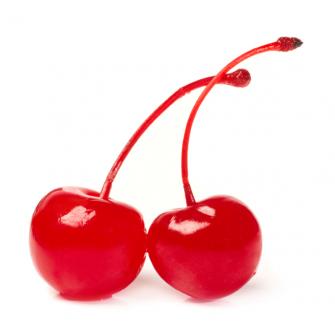 Коктейльная Вишня красная с черенком, 720 мл