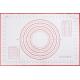 Коврик силиконовый с разметкой 40х60 см