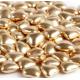 Посыпка Сердечки золотые, 50 гр
