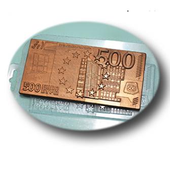 "Форма для шоколада ""Плитка 500 евро"""