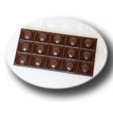 """Форма для шоколада """"Плитка футбольная"""""""