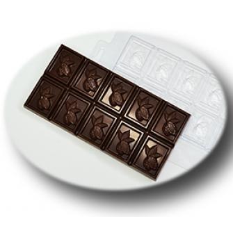 """Форма для шоколада """"Плитка какао"""""""