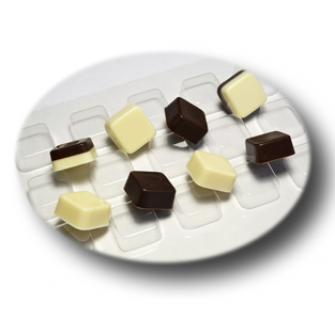 """Форма для шоколада """"Конфеты квадратные"""""""