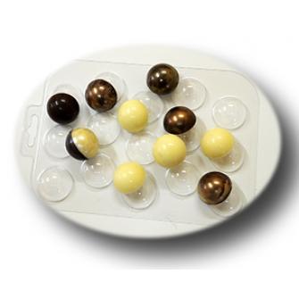"""Форма для шоколада """"Сферы 30 мм"""""""