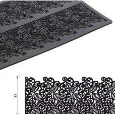 Коврик силиконовый рельефный Кружево 2, 40х20 см