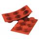 Форма силиконовая Силиконфлекс Маффин средний, 69х35 мм