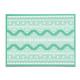 Коврик силиконовый рельефный Кружево 3, 39х29 см