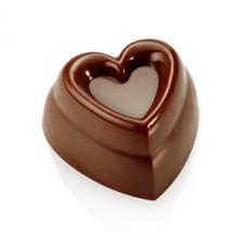 """Форма для конфет """"Пралине""""сердце, 30х30х17 мм"""
