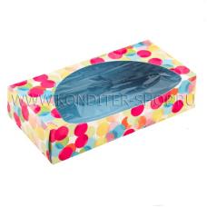 """Коробка """"Кружочки"""", 20х10х5 см"""