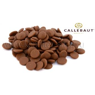 Шоколад Callebaut в таблетках, молочный 33,6%, 250 гр