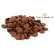 Шоколад Callebaut в таблетках, молочный 33,6%, 100 гр